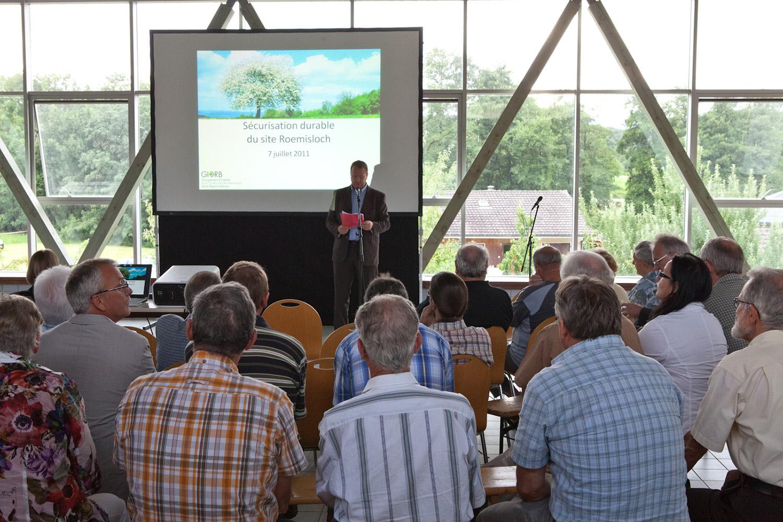 Informationsveranstaltung 7. Juli 2011